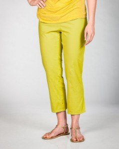 Fresh Produce Clothing Caroline Capri in Citron.