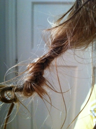 Tangled hair - how to untangle.