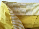 Close up of the inside of the waistband on the Caroline Capri from Fresh Produce.