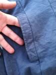 Pocket Detail on Fresh Produce Collared Jacket.