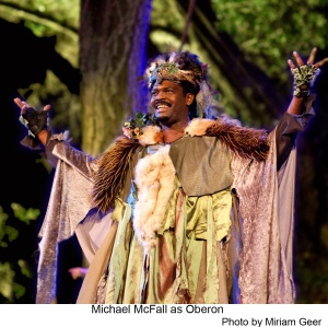 Photo of Oberon from 2013 Theatricum Botanicum production of Midsummer Night's Dream.