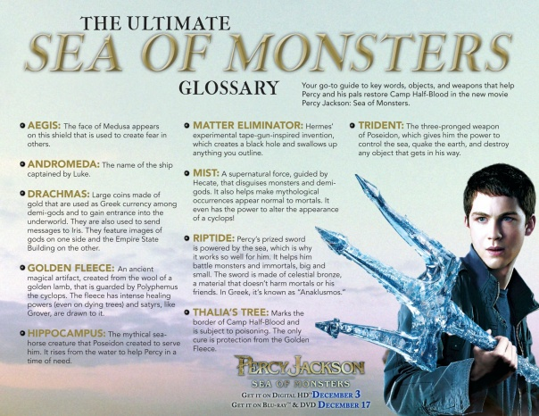 Percy Jackson Sea of Monsters giveaway on EncinoMom.ocm