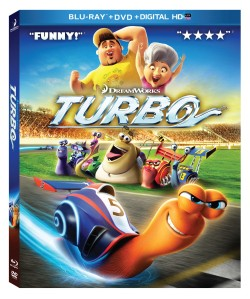 Box art for Turbo from Dreamworks.