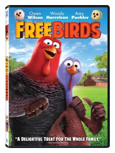 Free Birds Blu-ray & DVD