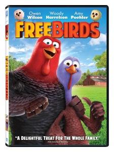 Free Birds Blu-ray & DVD