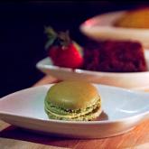 Riviera 31 trio of desserts. Photo by Warren Keating.