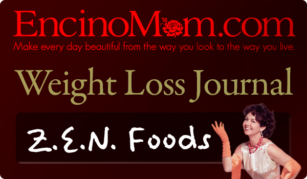 EncinoMom introducing the Z.E.N. Foods Weight Loss Journal.