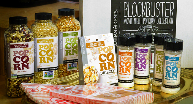 Photograph of Urban Accents Blockbuster Movie Night Gift Set by EncinoMom photographer, Warren Keating.