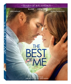 The Best Of Me Blu-ray & DVD Box Art.