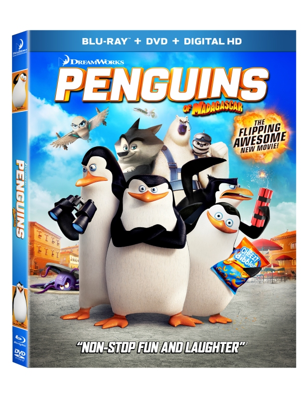 Box Art Penguins Of Madagascar.