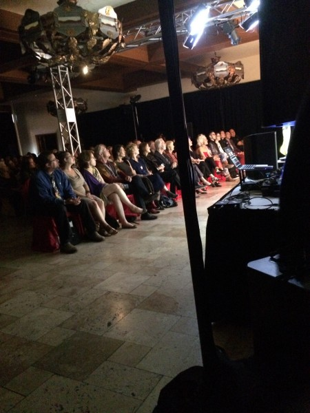 The packed house at Santa Fe Street Fashion Show.