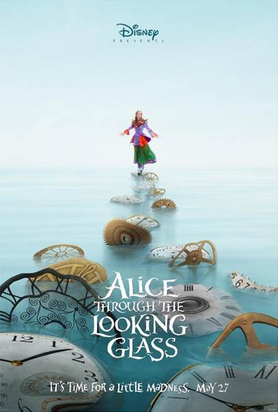 Tim Burton, produces Alice Through The Looking Glass coming Memorial Day 2016 with music by Danny Elfman and starring Johnny Depp, Anne Hathaway, Helena Bonham Carter and Stephen Fry.