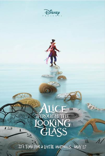 Johnny Depp returns as the Mad Hatter in Alice Through The Looking Glass.